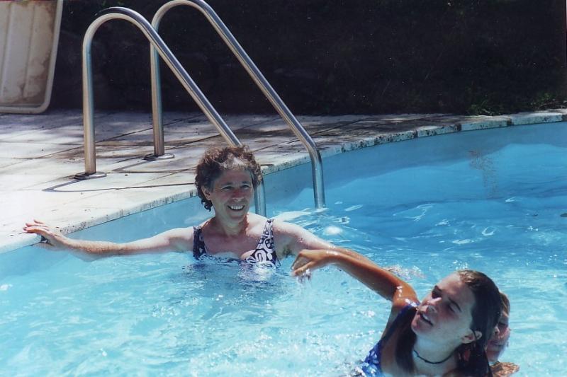 Les joies de la piscine chauffée de Ma Maison de Campagne