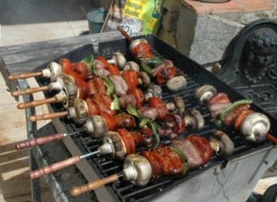 Un barbecue bois est à votre disposition. Vous disposez aussi d'un barbecue à gaz si vous préférez.